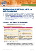 Dotations aux collectivités - DSIL et DETR