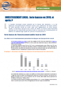 Evolution investissement local 2019-2022