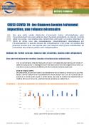CRISE COVID-19 : les finances locales fortement impactées, une relance nécessaire
